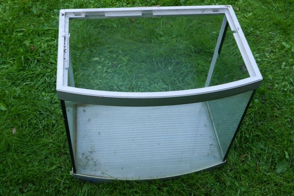 Aqua One Aquastart 500 (65 litre) Aquarium / Reptile Tank  Glass Tank with  Curved Front  | in Sunderland, Tyne and Wear | Gumtree