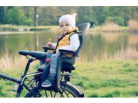 LIKE NEW - Hamax Siesta bike toddler seat