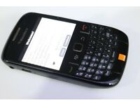 BlackBerry 8520 Curve Sim Free Unlocked Smartphone Black