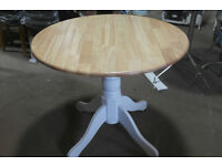 Brand new Kentucky 2 tone drop leaf dining table............