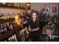 Bar staff at Caffeine & Cocktails Reading, Full and Part time positions available!