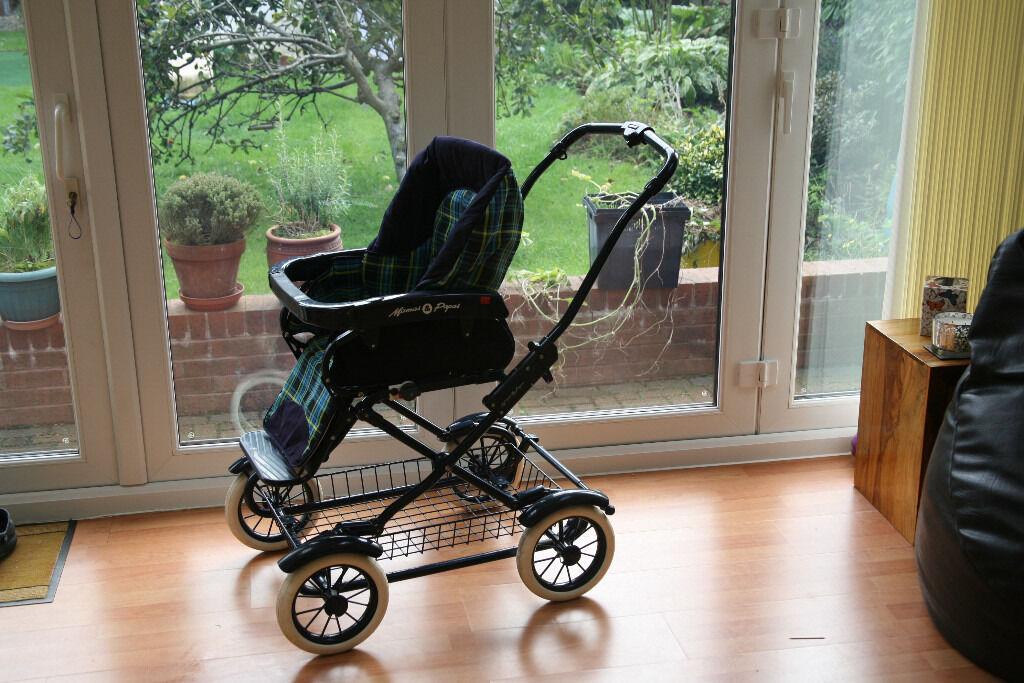 Mamas and Papas peg-perego pushchair and pram system