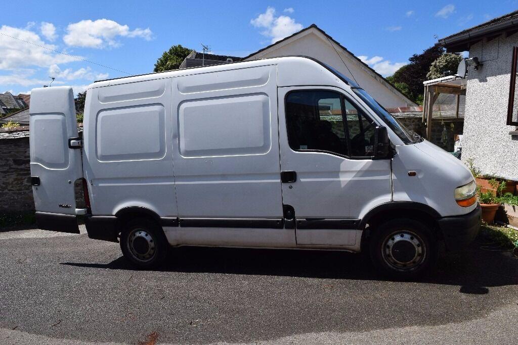cd14e547a1 2001 Renault Master van for sale £800.