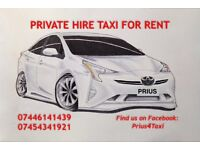 Taxi for rent Toyota Prius