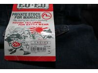 BRAND NEW EVISU MEN'S JEANS