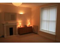 Large 1 bedroom ground floor flat close to city centre with huge light and airy lounge,