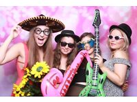 Party Photo Booth For Hire from £140 with unlimited prints.