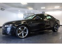 2009 09 AUDI A4 2.0 TDI S LINE 4D 141 BHP DIESEL *PART EX WELCOME*FINANCE AVAILABLE*WARRANTY