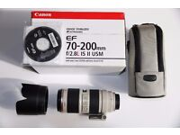 Canon EF 70-200mm f2.8L IS 11 USM lens