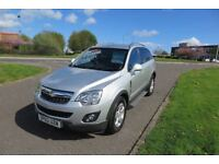 VAUXHALL ANTARA 2.2 EXCLUSIV CDTI,2012,Low Mileage,Half Leather,Cruise Control,Privacy Glass,F.S.H
