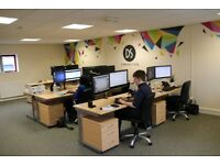 Flexible Serviced Office Space, Sheffield, Air-Conditioned Modern Office