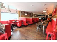 In the heart of Wathamstow on most prime location modern restaurant--Viewing STRICTLY by appointment