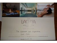 Gift Voucher £99,- for The Laguna Health & Spa Cardiff