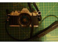 Canon AV1 with 28mm Lens