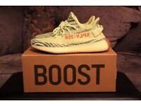 Yeezy Boost 350 V2 Semi Frozen Yellow UK9