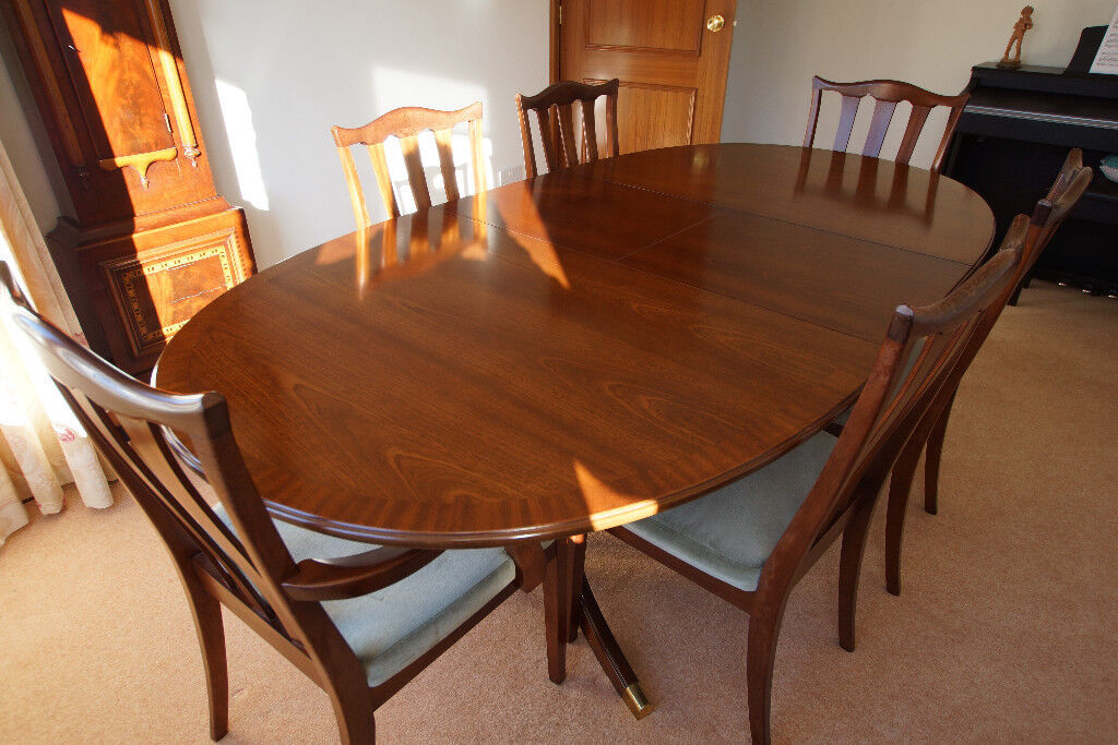 G Plan Quot Garrick Quot Dining Table And 6 Chairs In Crieff Perth And