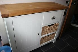 Cotswold Co Oxford painted sideboard with a cupboard and basket drawers