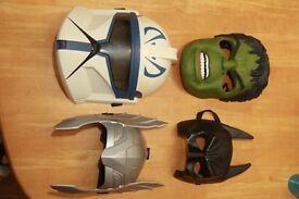 Superheroe Dress up Mask Collection