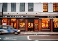 Experienced Full-time Waiting Staff Needed at the Latchmere in Battersea