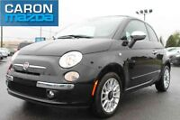 2014 FIAT 500 Convertible Lounge, CUIR, AC, MAGS,