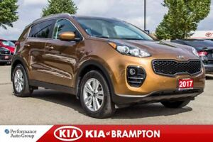2017 Kia Sportage LX. AWD. CAMERA. HTD SEATS. CRUISE. BLUETOOTH