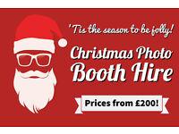 **Christmas Photo Booth Hire from £200!** Birmingham Wolverhampton Telford Cannock Stafford**