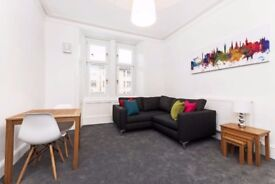 Bright, modern and spacious 2-bedroom property in the heart of Glasgow.