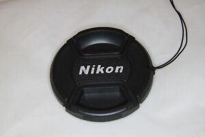Nikon Lens Cap - 77mm - Pinch Clip Fixing