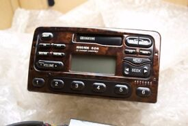Ford 5000 RDS EON Walnut Wood Radio Tape Player CD Compatible