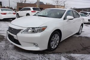 2013 Lexus ES 350 WHITE ON BLACK