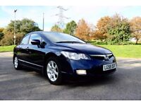 HONDA CIVIC 1.4 I-DSI SE IMA AUTOMATIC 4 DOOR SALOON 2 OWNERS FSH HPI CLEAR EXCELLENT CONDITION