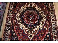 Very old Hand-made Persian rug origin from Chahar Mahal/Bakhtiari Persia 280cm X 185cm