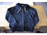 Ralph Lauren Polo Hoodie Hoody Jacket Black Small S