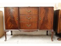 Wooden sideboard (from Cambridge Re-use, a Charity Organisation)