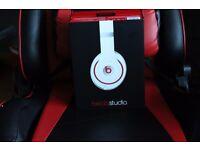 White Beats Studio 2.0 Headphones