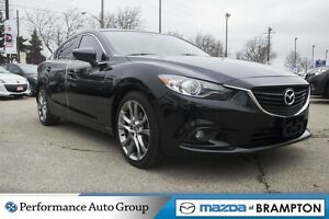 2015 Mazda MAZDA6 GT|LEATHER|SUNROOF|NAVI|REAR CAM|HEATED SEATS