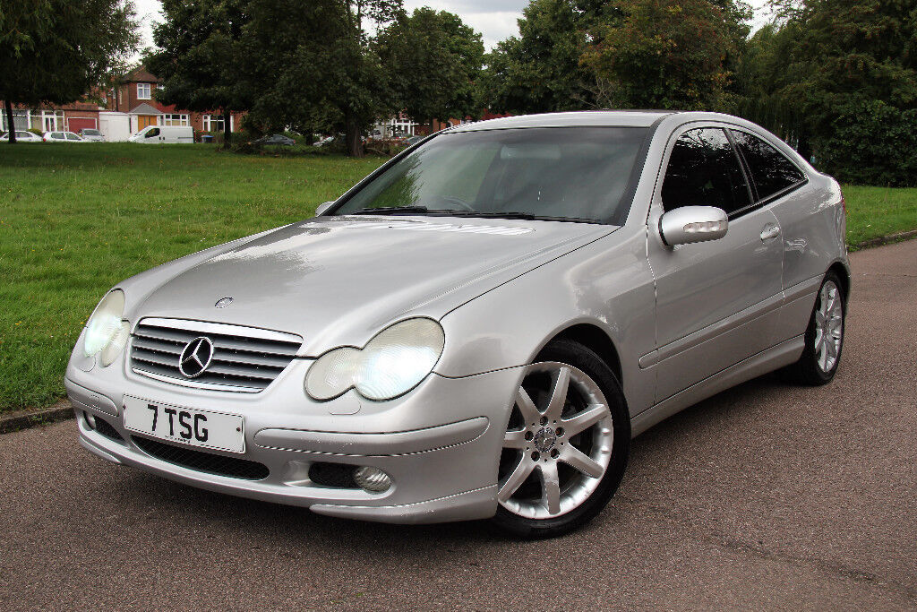 2003 Mercedes C220 CDi SE 2dr Automatic - Satnav - Xenons - Blueooth - Leather