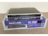 Tascam US-2000 Rackmount USB Audio Interface Sound Card