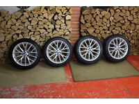 """Genuine BMW 1 Series 17"""" Y-Spoke 380 Alloys and Winter Tyres"""