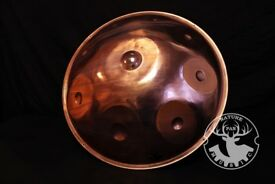 Handpan, NaturePan Copper handpan with La'Sirena scale