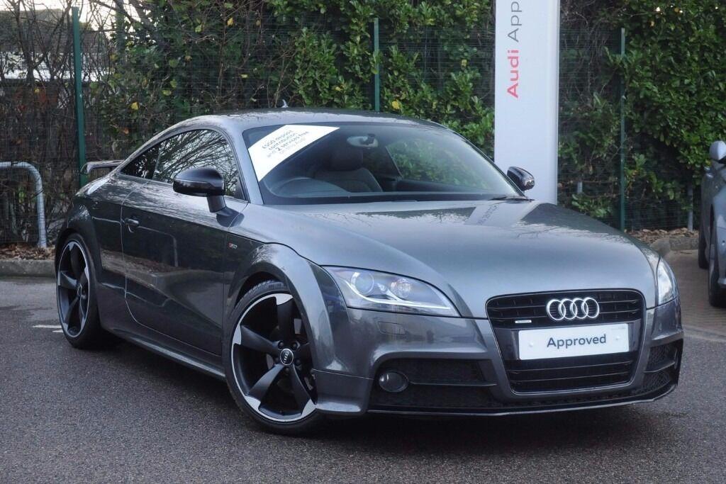 2013 Audi Tt Black Edition Tdi Quat Daytona Grey With