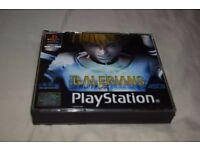 Galerians Playstation 1 Video Game