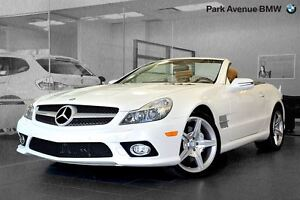 2011 Mercedes-Benz SL-Class SL550 Roadster - One owner - Canadia
