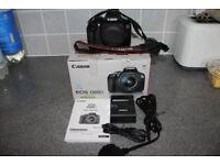 Canon 1300D camera kit.