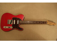 Fender Deluxe Nashville Telecaster Electric Guitar - Candy Apple Red