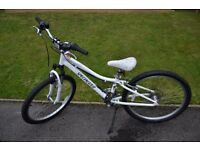 Specailized Hotrock 20 Girls bicycle complete with MET helmet