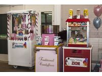 🎉🎉ZeeZee Perfectionz🎉🎉 We hire Candyfloss,Popcorn & Slush Machine,Sweetcart, Mascots & many more