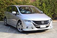 2011 Honda Odyssey MY11 Luxury Wagon Silver 53,000km Blackburn Whitehorse Area Preview