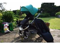 iCandy Apple 2 Pear Clover with Carrycot
