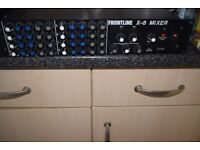 FROUNT LINE-8-MIXER/JAPAN/4 CHANNEL CAN BE SEEN WORKING